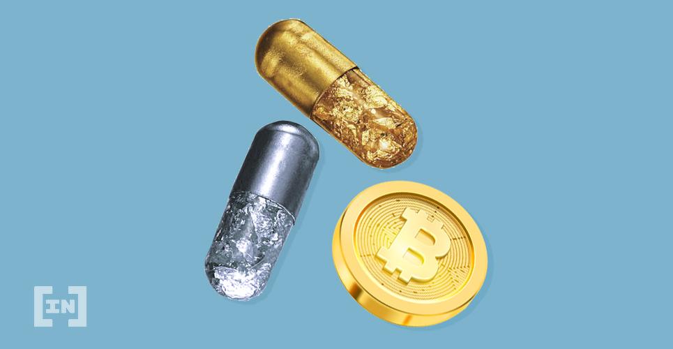 Oro plata y Bitcoin