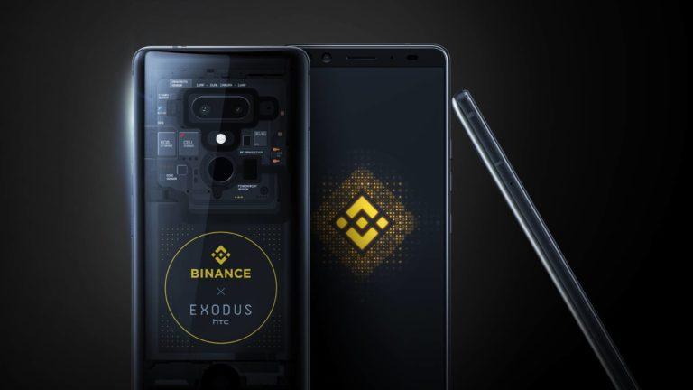 HTC Exodus 1 Binance Edition
