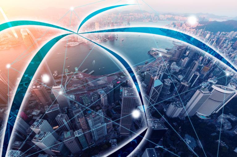 shutterstock blockchain smart city