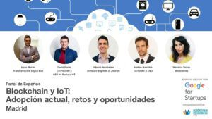 Blockchain e IoT Madrid