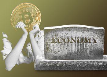 Bitcoin muerte economía