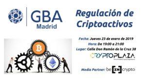 Regulación criptoactivos