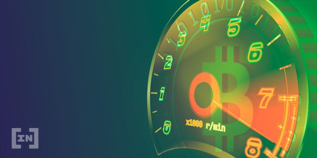 Bitcoin velocidad