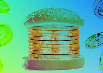 Bitcoin hamburguesa