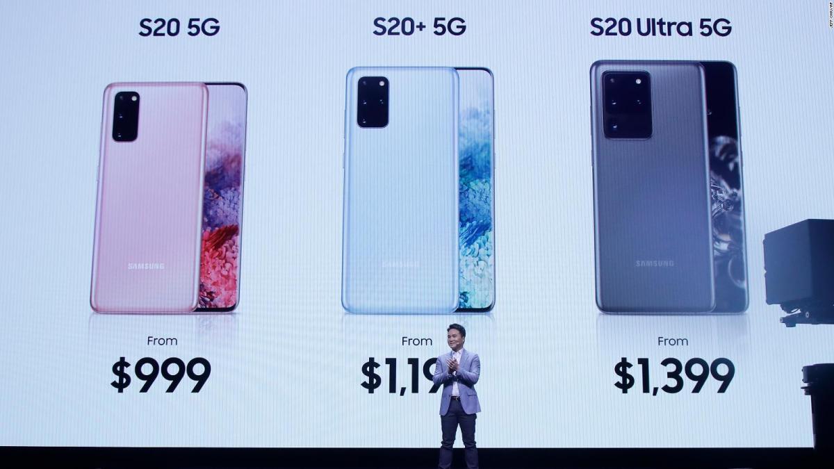 Presentación oficial de la línea Samsung Galaxy S20