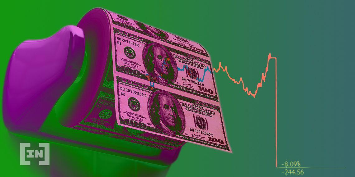 El dólar estadounidense (USD) cae a niveles de 2018 ¿Cripto como alternativa?