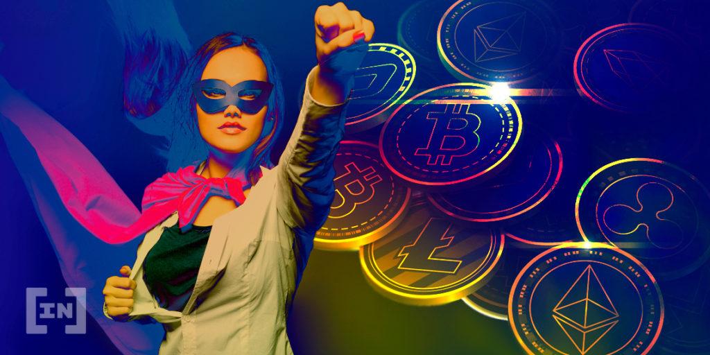 Mujeres en cripto y blockchain