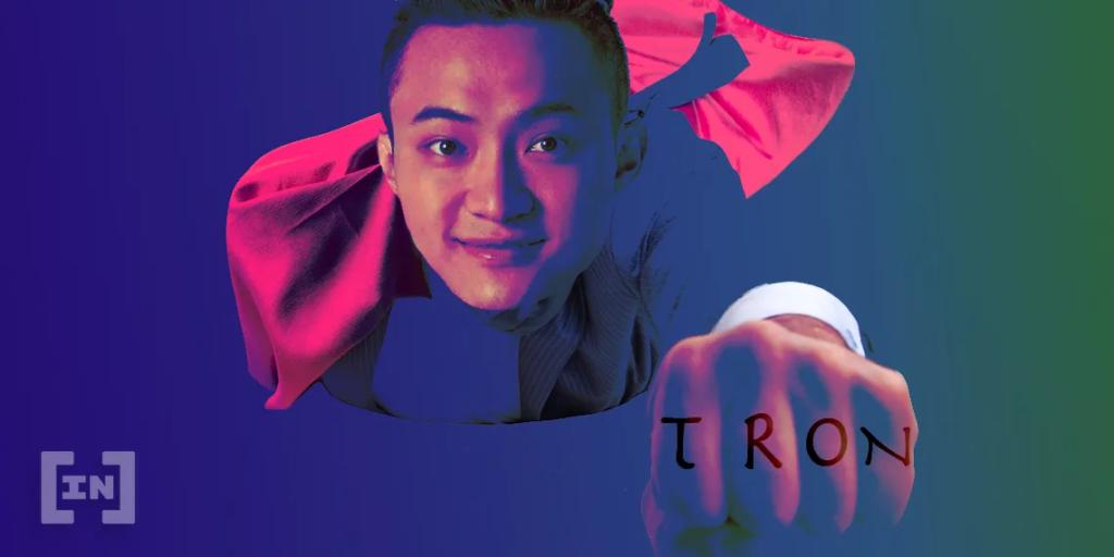 Tron TRX justin sun