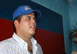 Carlos Vargas en sus tiempos de dirigente opositor al gobierno de Maduro. Imagen: La Orquidea Digital