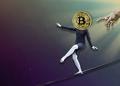 Bitcoin BTC cae transacciones