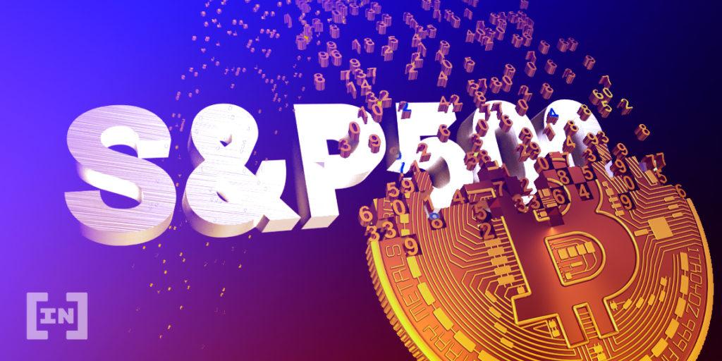 Bitcoin BTC S&P 500