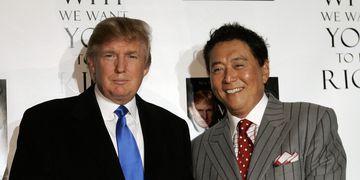 Robert Kiyosaki y Trump