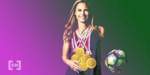 Christie Pearce campeona olímpica compra BTC