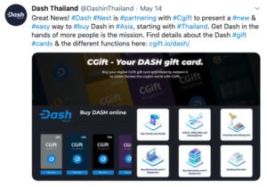 Cgift y Dash Tailandia