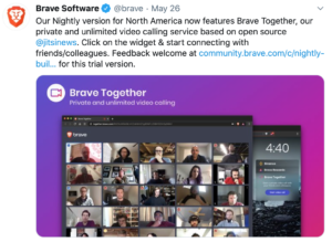 Brave Together videollamadas