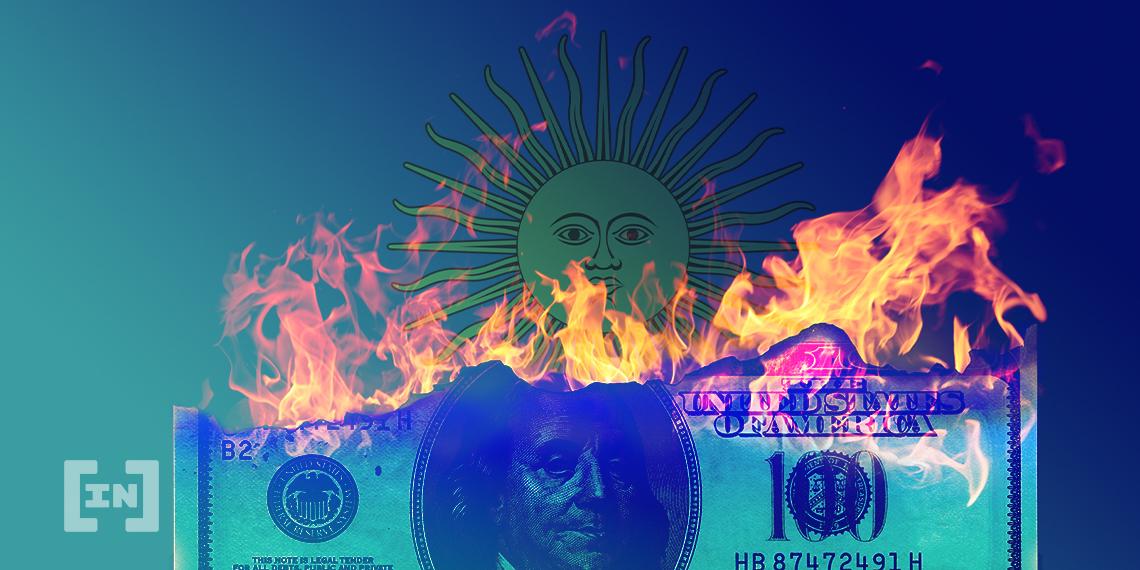 BIC dollar blue argentina fire