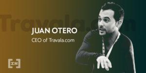 Juan Otero CEO de Travala.com