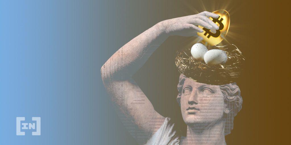 Bitcoin huevo de oro