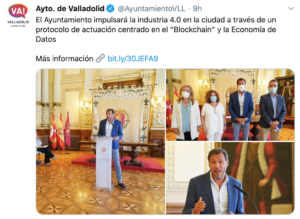 Valladolid blockchain