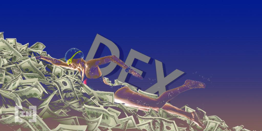 DEX volumen de trading