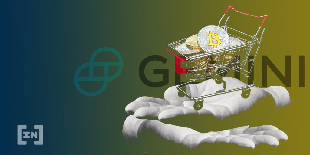 Gemini blockchain RIA