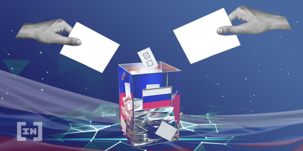 Blockchain para votación Russia