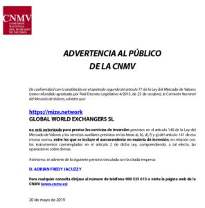 CNMV Blue Mining
