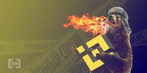Binance censurado por Rusia
