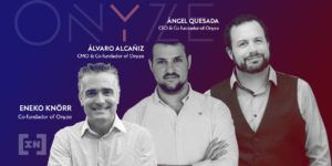 Fundadores de Onyze sobre regulación en Europa de las criptomonedas