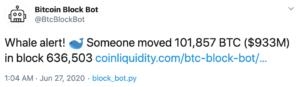 Tuit Bitcoin bot