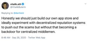 Tuit app store descentralizado