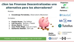 Finanzas descentralizadas alternativa para los ahorradores