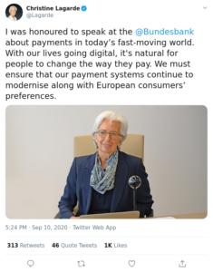 Lagarde BCE moneda digitales