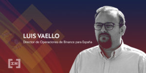 Luis Vaello Binance España