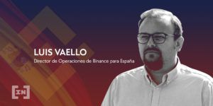 Luis Vaello Binance España