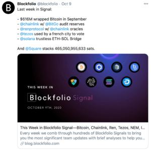 Tuit blockfolio plataformas wrapped