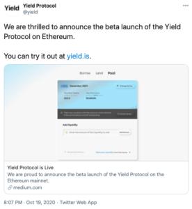 Tuit Yield protocolo beta