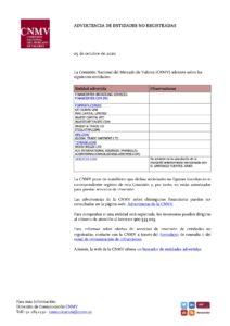CNMV Arbstar y Santi Fuentes