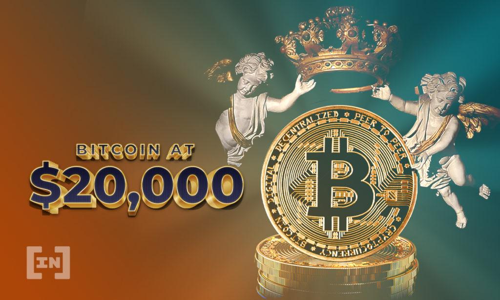 Bitcoin supera 20.000 dólares