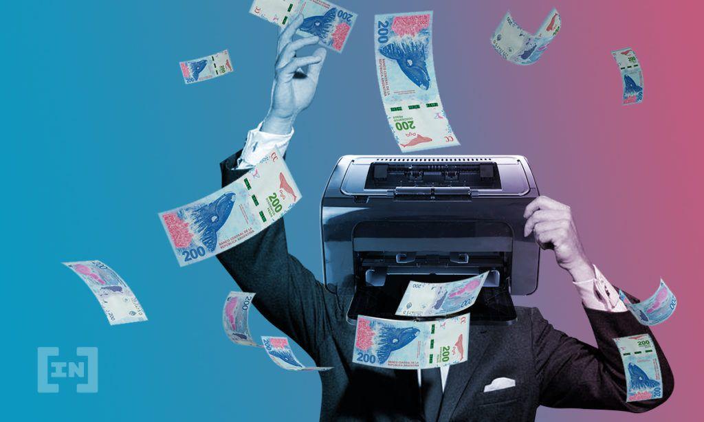 Impresora de pesos argentinos