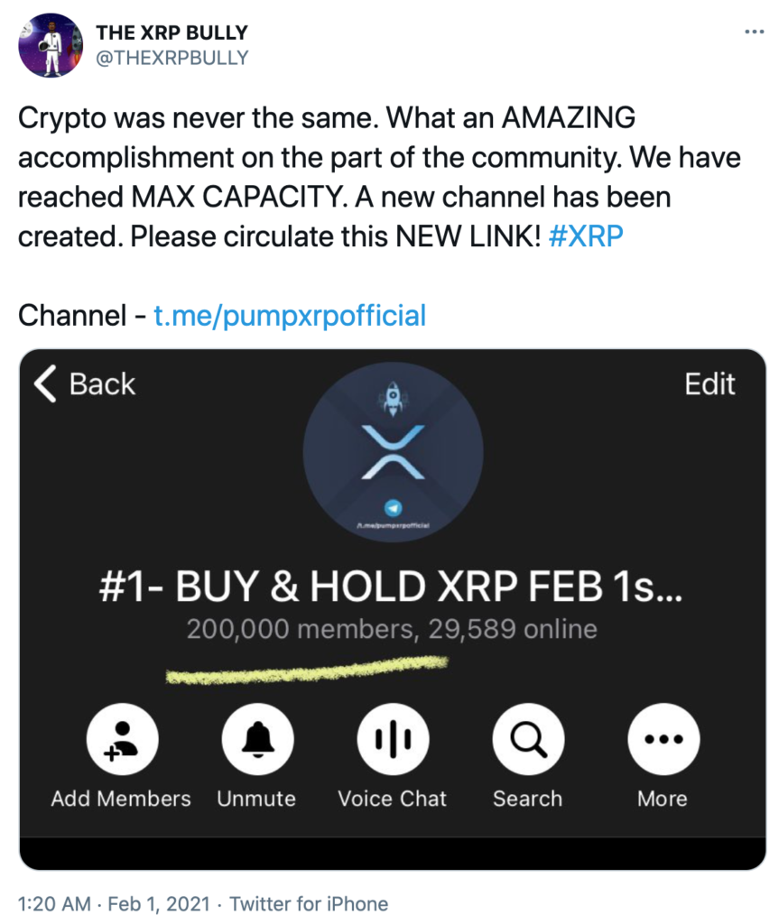 but hold Ripple XRP