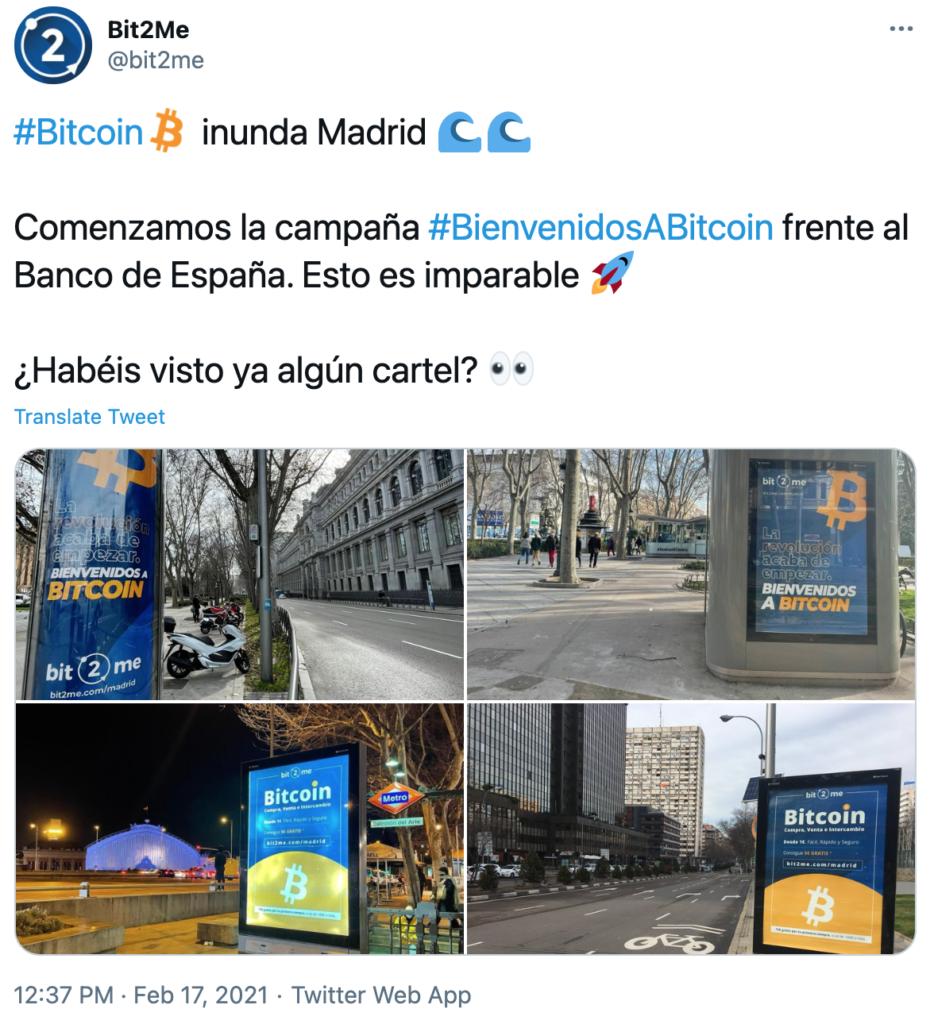 Bit2me Madrid Bitcoin