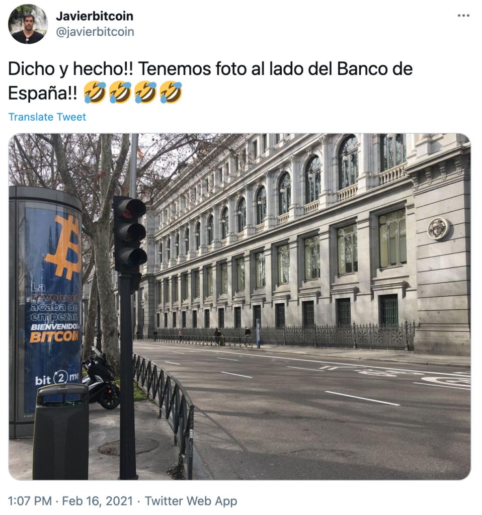 Bitcoin Madrid