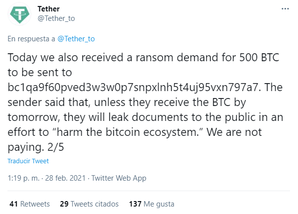 tether extorsion 1