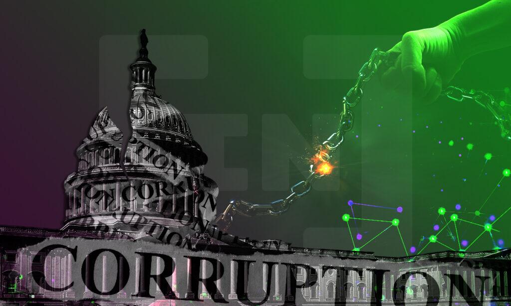 Blockchain corrupción