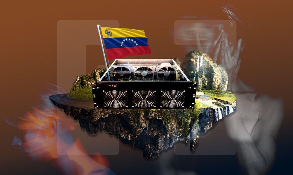 Minado criptomonedas Venezuela