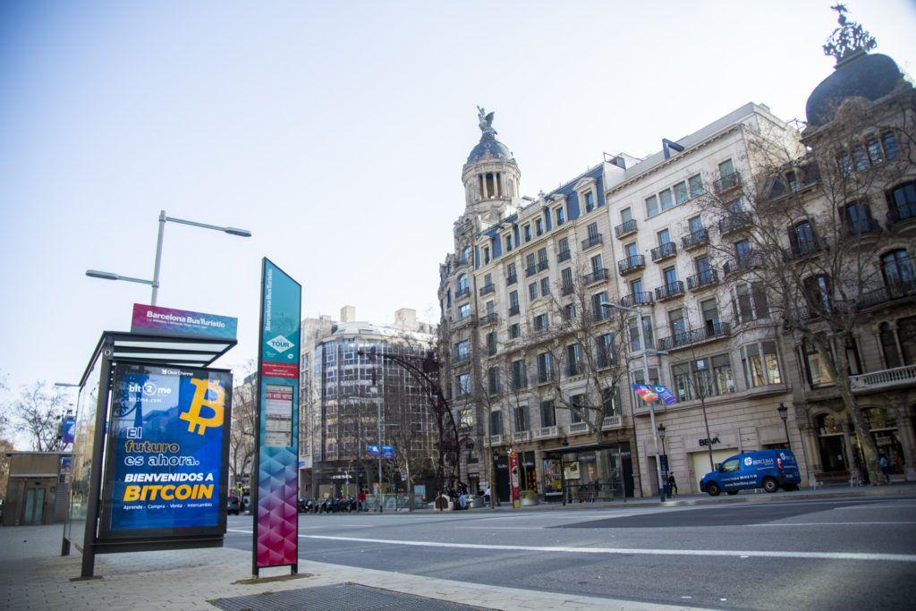 Barcelona Passeig de Gra%CC%80cia Bit2Me
