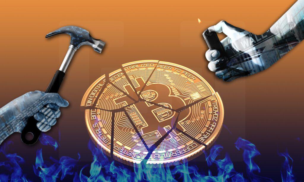 Finanzas destruyen Bitcoin