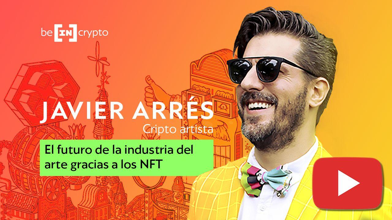 El futuro de la industria del arte debido a la revolución NFT con Javier Arrés