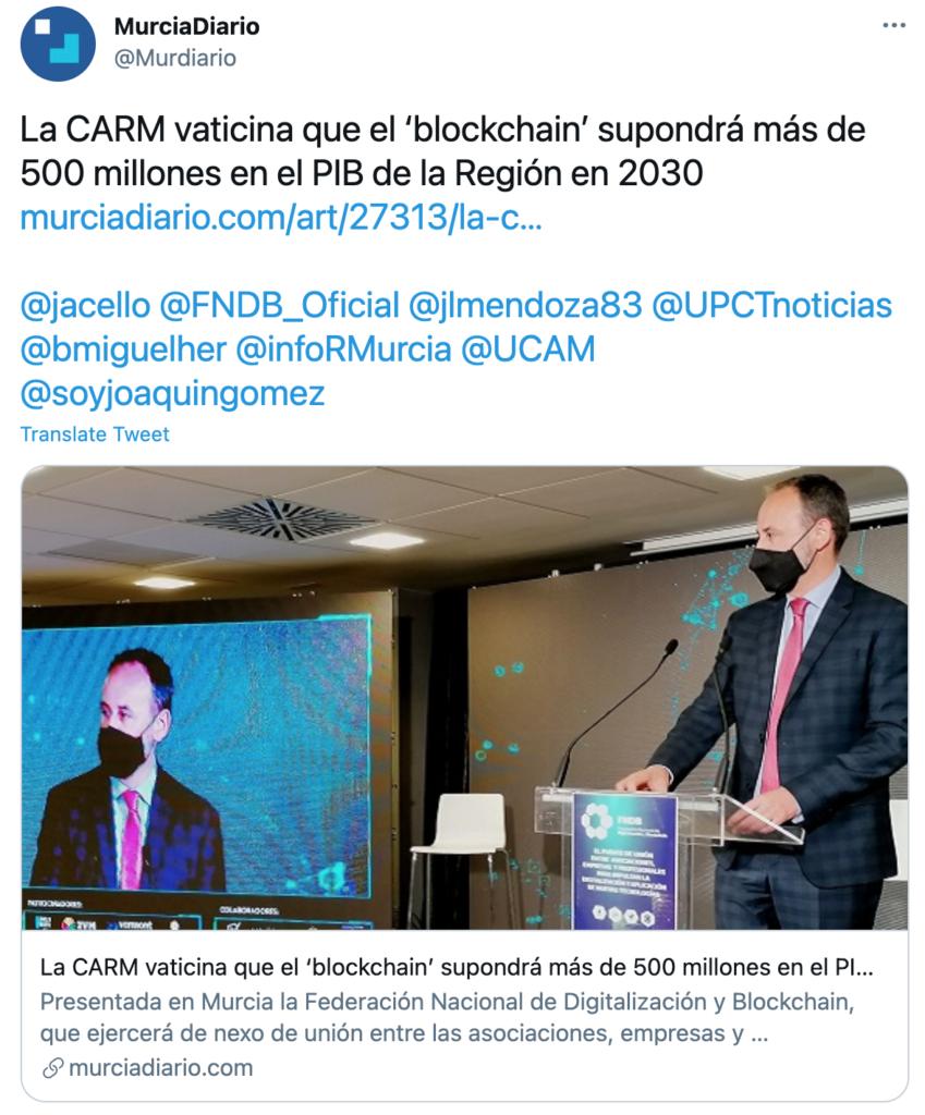 Murcia blockchain